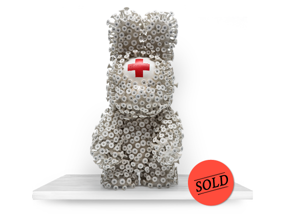 RED CROSS VOODOO BUNNY