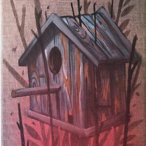 Mr Woodland Art Avenue Gallery Leinwand