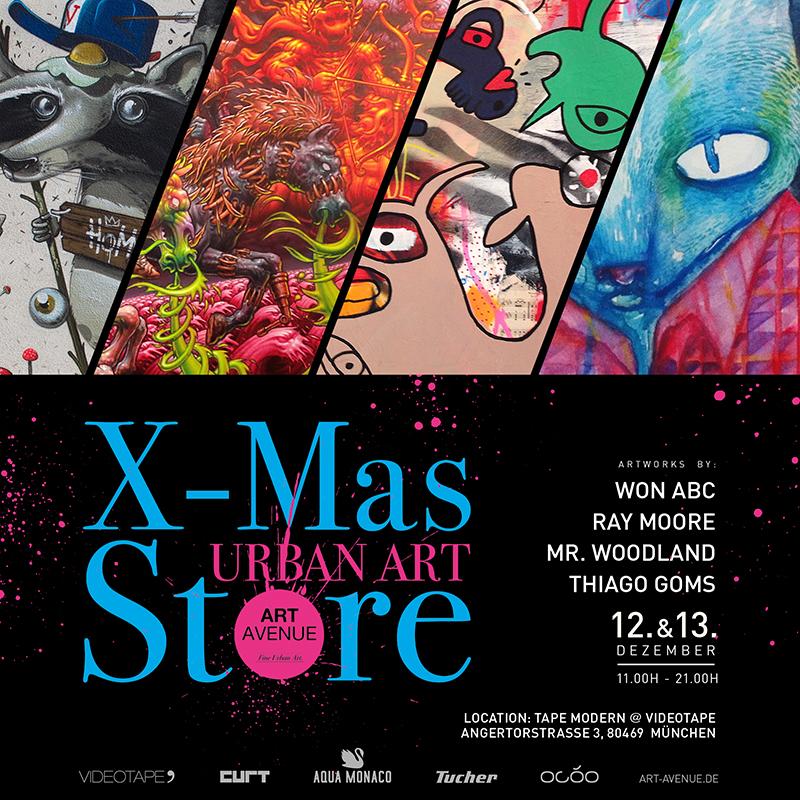 Urbane Kunst und ausgefallene Weihnachtsgeschenke – ART AVENUE X-Mas ...